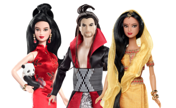 modern asian barbies